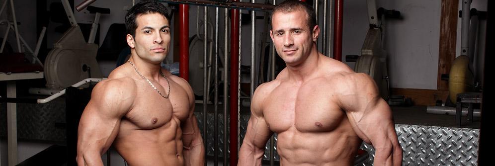 MuscleHunks Gordon Burke and Benjamin Jackson