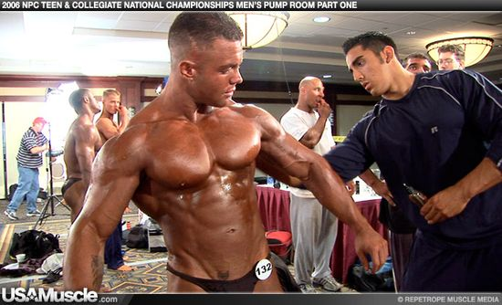 Adam Reich - 2006 NPC Teen & Collegiate National Championships Mens Pump Room Part 1
