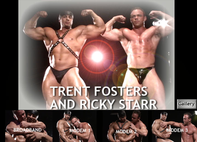 Muscle Worship Trent Fosters and Ricky Starr