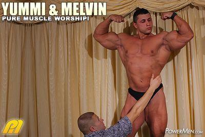 Powermen Yummi Cosmin and Melvin