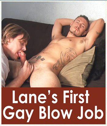 Lane's First Gay Blow Job