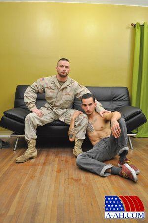Civilian Marten & Sergeant Miles