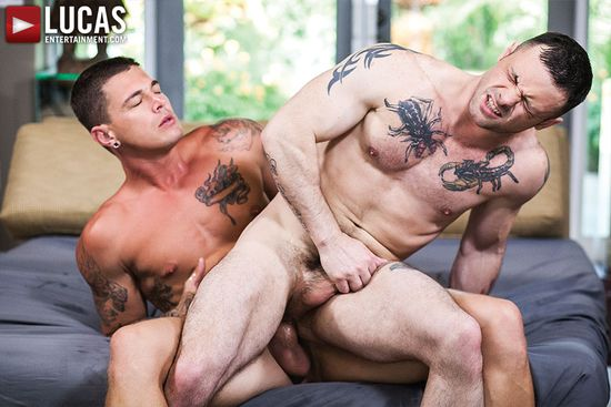 Sergeant Miles Rides Sebastian Young's Throbbing Raw Cock