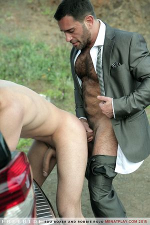 Edu Boxer and Robbie Rojo in Free Ride