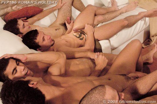 Roman Heart, Bruno Bordas, Michael Amerika, Alejandro Bravo, and Max Schutler
