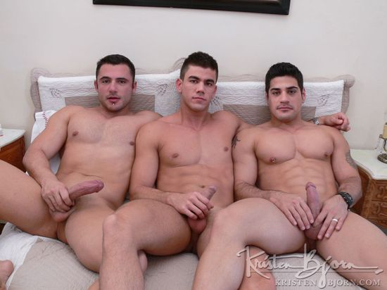 Max Schutler, Daniel Marvin and Pedro Andreas