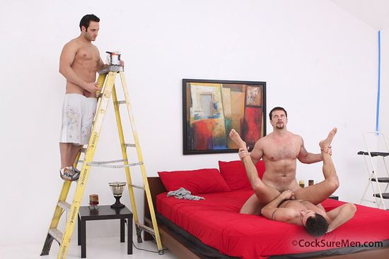 Vinnie D'Angelo, Nick Capra and Carlo