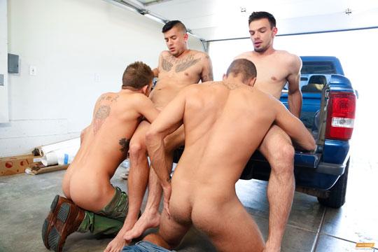 Alexander Gustavo, Brock Avery, Jason Maddox, Joey Rico