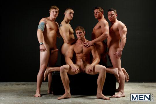 Connor Kline, Connor Maguire, Jake Wilder, Tom Faulk, Travis James