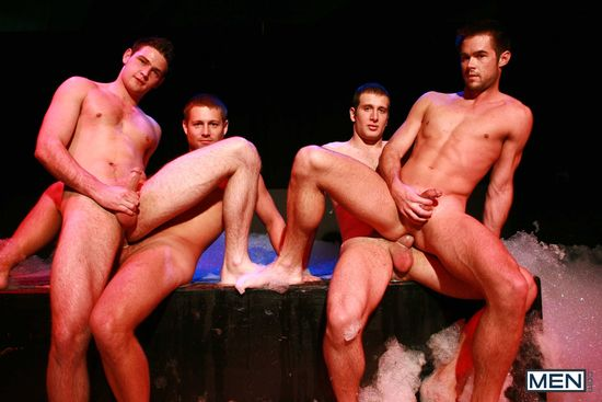 Spencer Fox, Bobby Clark, Mike De Marko and Duncan Black
