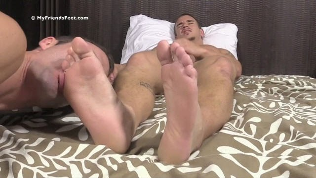 Personal Trainer Adams Feet & Socks Worshiped