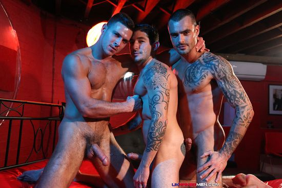 Paddy O'Brian, Johnny Hazzard and Isaac Jones