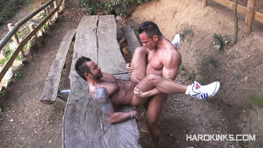 Martin Mazza and Alex Brando