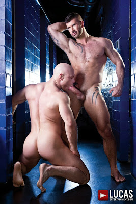 Adam Killian Premieres in His First Bareback Scene Alongside Marco Milan