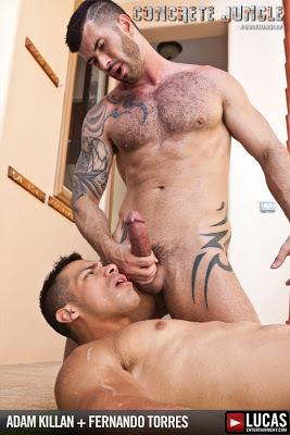 Fernando Torres Rides Adam Killian's Cock