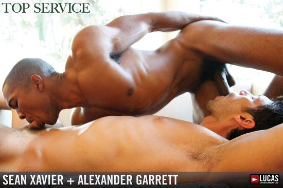 Alexander Garrett Sucks and Flip-Fucks with Sean Xavier