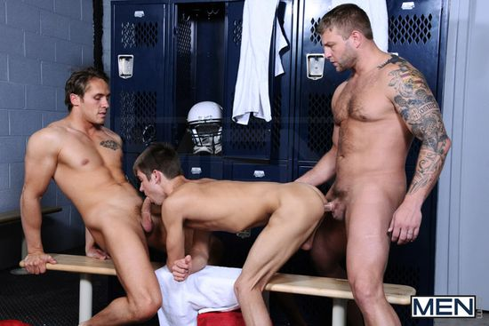 Colby Jansen, Ryan Rockford and Johnny Rapid