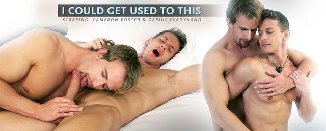 Cameron Foster and Darius Ferdynand
