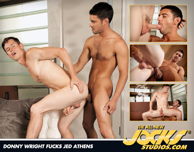 Donny Wright and Jed Athens