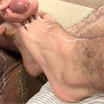 Ricky Larkin's First Taste Of Sock & Foot Worship