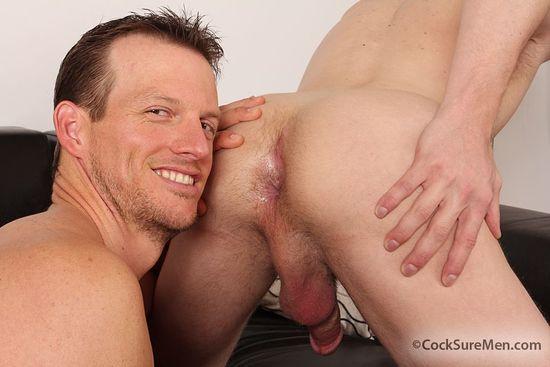 CocksureMen Beau Flexxx and Blake Daniels