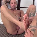 Rod Daily Gives a Sock & Foot Job