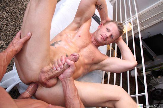 Jeremy Stevens and Tyler Saint
