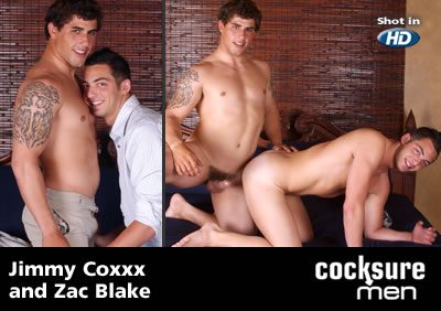 Jimmy Coxxx and Zac Blake