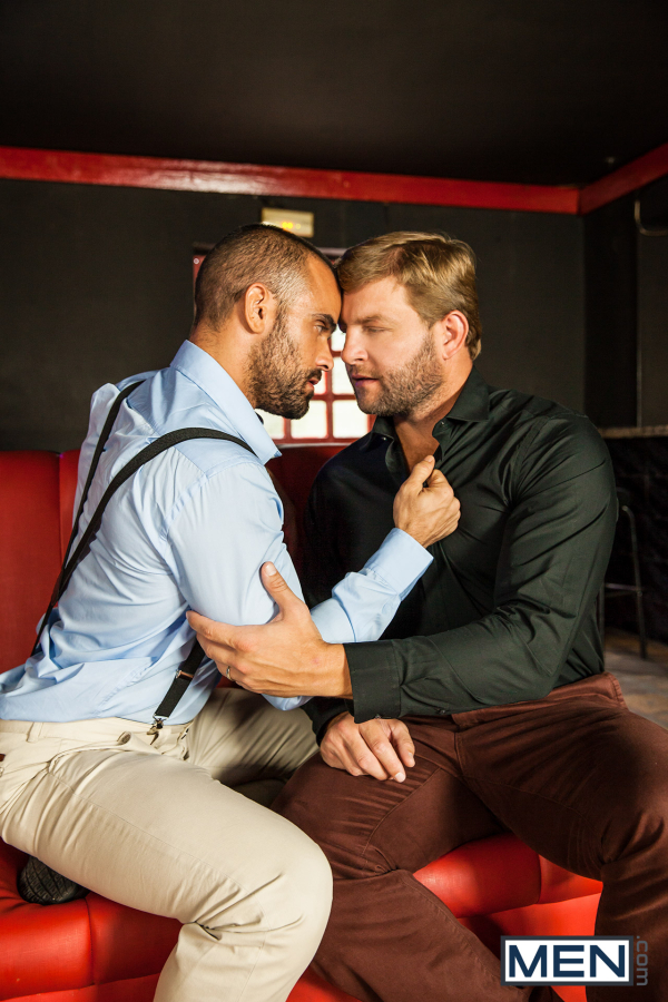 My adult male couldn t take his eyes off from the all the gay men