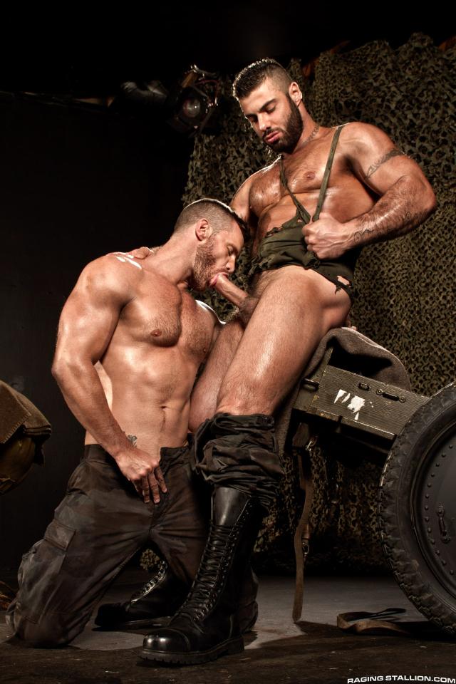 41880_002 Landon Conrad and Alex Marte in Militia, Scene 2