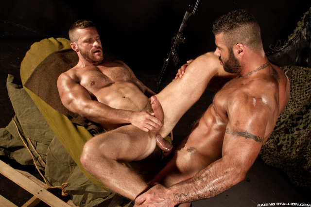 41880_009 Landon Conrad and Alex Marte in Militia, Scene 2