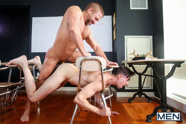 21 Dirk Caber and Jack Hunter in Straight A Student Part 3