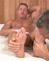 Staff Sergeant Tristan Has His Socks and Feet Worshiped