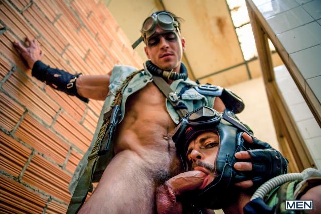 10 Hector De Silva and Paddy O'Brian in Apocalypse Part 1