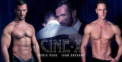 Denis Vega and Ivan Gregory in Cine X