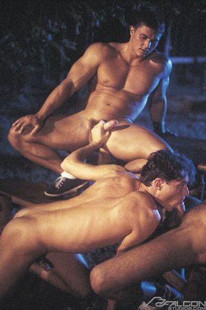 6319_002 Miklos Zsolt, Thomas Laszlo and Milos Csaba in Hungarian Heat, Scene 4
