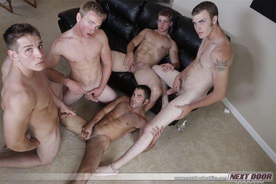 2855_031 Aaron Skyline, Christian Wilde, Dylan McLovin, Justin Ryder, Marcus Mojo