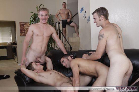 2855_026 Aaron Skyline, Christian Wilde, Dylan McLovin, Justin Ryder, Marcus Mojo