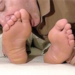 05 Jaxton Gets His Size 12 Feet & Socks Worshiped