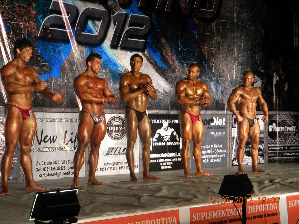 2012 Campeonato Argentino FAM / IFBB 550