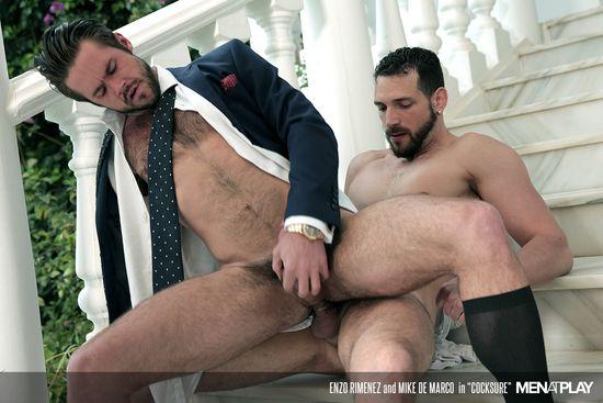 Enzo Rimenez and Mike De Marco in Cocksure_08
