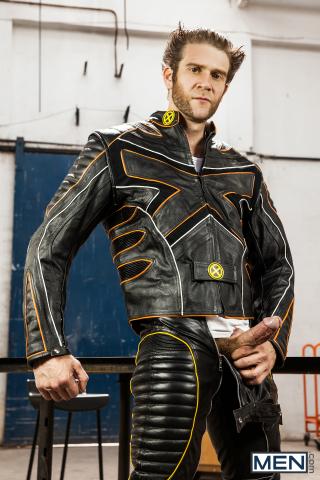 Colby Keller and Landon Mycles in X-Men : A Gay XXX Parody Part 3 6
