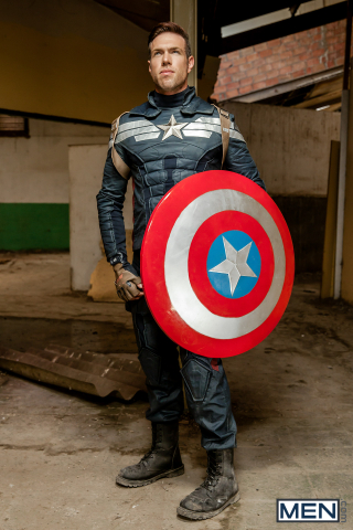 13 Alex Mecum and Black Panther in Captain America : A Gay XXX Parody Part 2