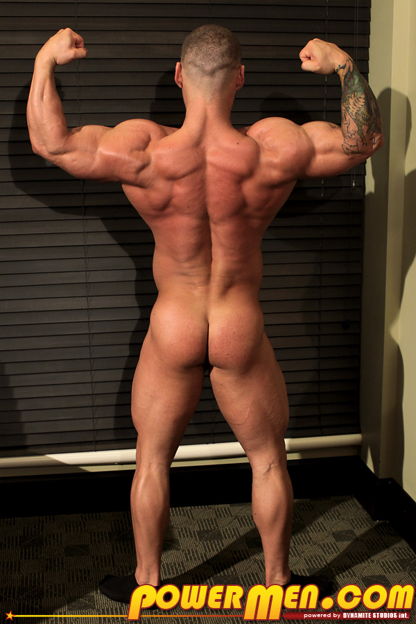 Bodybuilder christian power naked — photo 11