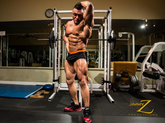 Jackson Gunn Gym Flex Part 1