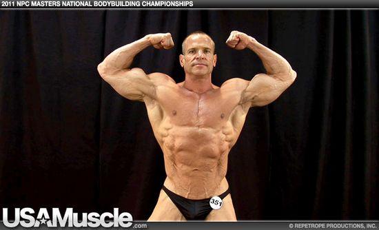 Bob Basile - 2011 NPC Masters National Championships