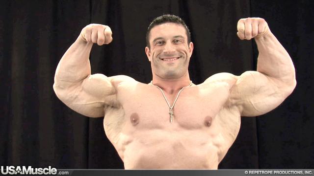 2012 NPC Nationals Men's Bodybuilding Backstage Posing Part 3