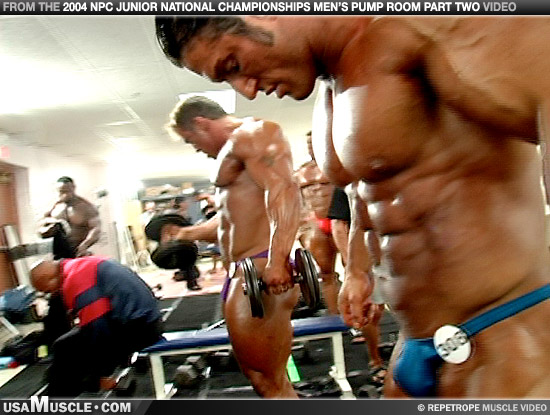 2004 NPC Junior Nationals Men's Pump Room Part 2