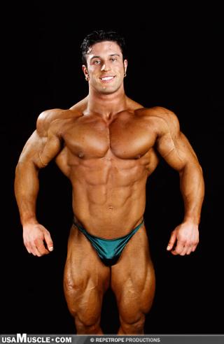 2003 NPC National Championships Men's Backstage Posing Part 3