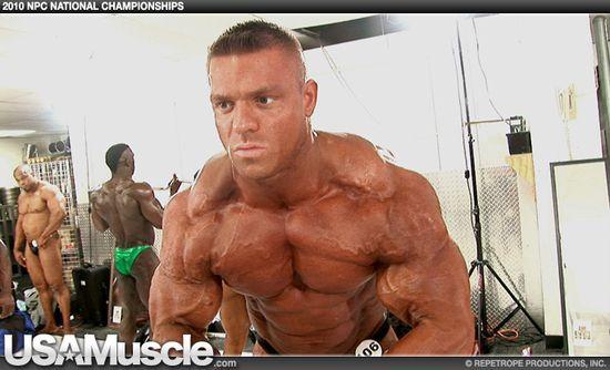 2010 NPC National Bodybuilding Championships Men's Pump Room Part 3